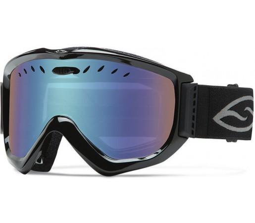 Ochelari de schi si snowboard Smith Knowledge OTG Black / Blue Sensor Mirror