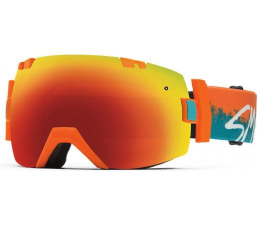 Ochelari Schi si Snowboard Smith I/OX Orange Kook/Red Sol-X mirror