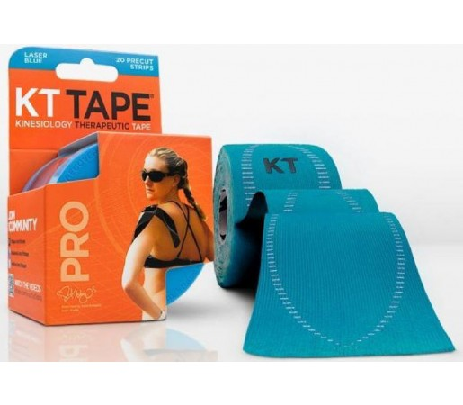 Benzi Kinesiologice Kt Tape Pro Synthetic Precut Blue