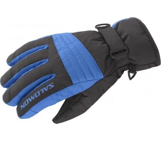 Manusi Salomon Link GTX JR Black VIbrant Blue 2013