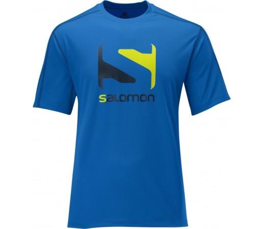 Tricou Salomon LOGO TEE M Union Blue