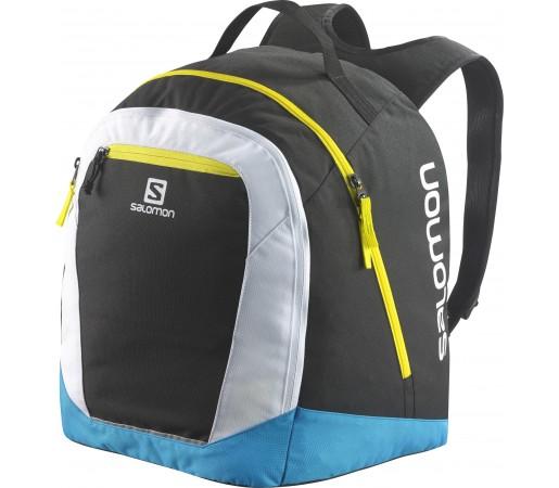 Rucsac clapari Salomon Original Gear Backpack Negru/ Alb/ Albastru