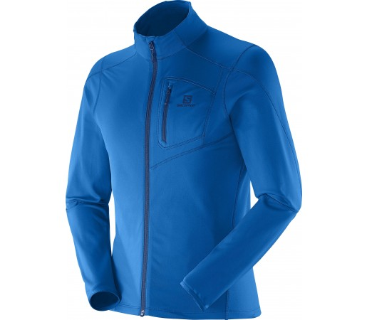 Bluza Salomon Discovery FZ Midlayer M Union Blue