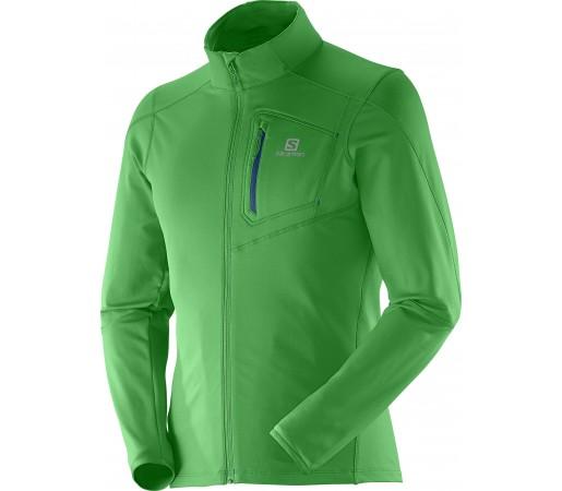 Bluza Salomon Discovery FZ Midlayer M Green