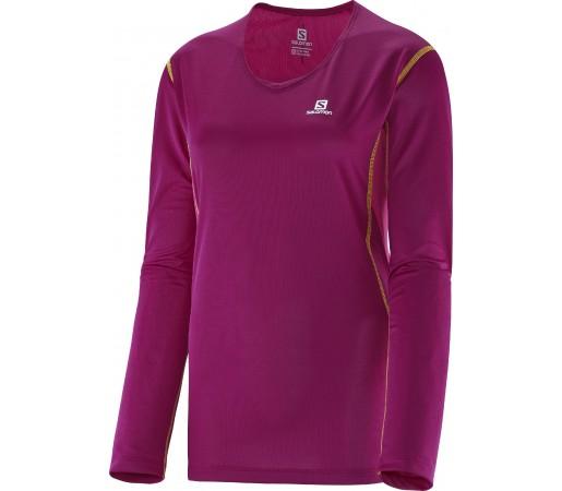 Bluza Salomon Trail Ls Tee W Purple