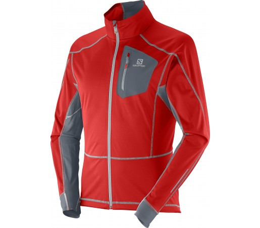 Geaca Softshell Salomon Equipe M Red- Grey
