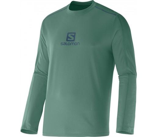 Bluza Tehnica Salomon Stroll Logo M Green