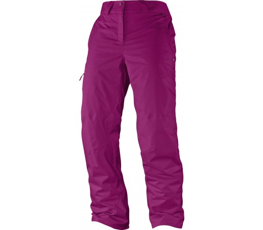Pantaloni Schi si Snowboard Salomon Response W Purple