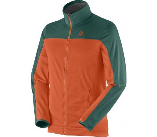Midlayer Salomon Cruz Fz 2 M Orange- Green