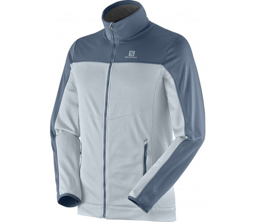 Midlayer Salomon Cruz Fz 2 M Grey- Blue