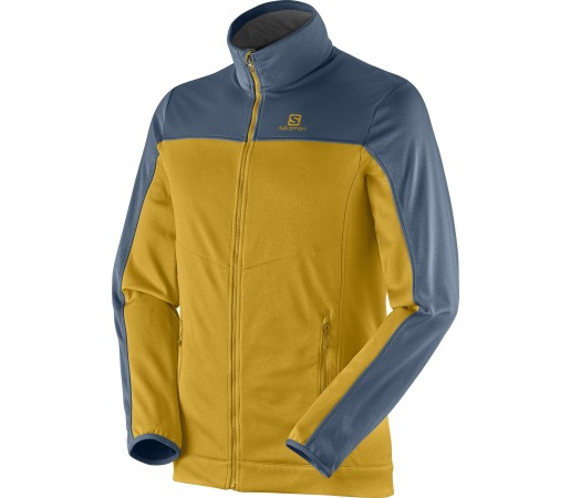 Midlayer Salomon Cruz Fz 2 M Yellow- Blue