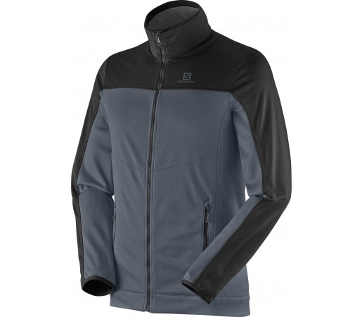 Midlayer Salomon Cruz Fz 2 M Grey- Black