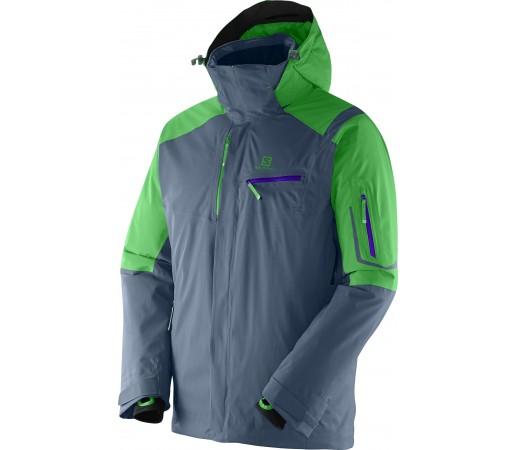 Geaca Schi si Snowboard Salomon Odysee GTX M Grey- Green