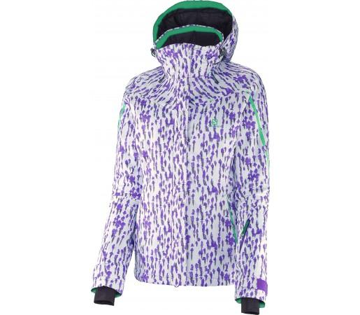 Geaca Ski si Snowboard Salomon Supernova W White/Purple