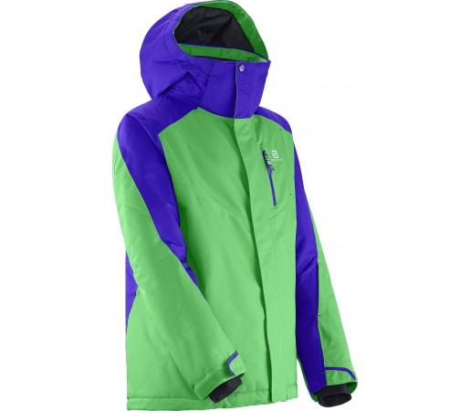 Geaca Ski si Snowboard Salomon Incline K Green