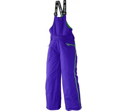 Pantaloni Ski si Snowboard Salomon Incline JR Bib K Blue