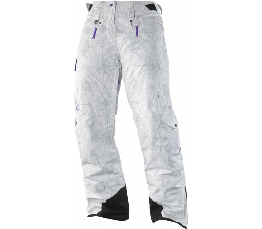 Pantaloni Ski si Snowboard Salomon Zero W White