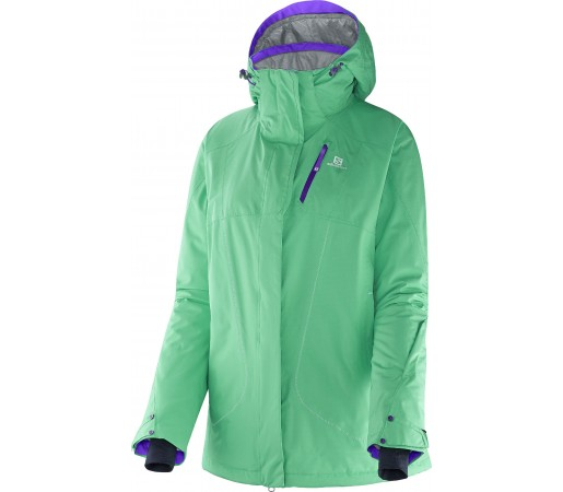 Geaca Ski si Snowboard Salomon Zero W Green