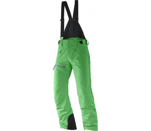 Pantaloni Ski si Snowboard Salomon Chillout Bib  M Light Green