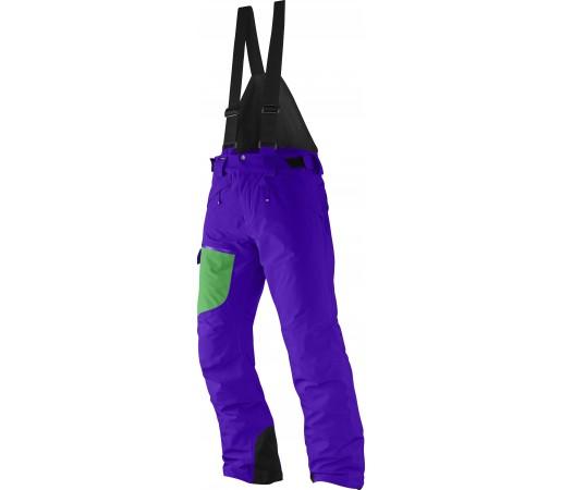 Pantaloni Ski si Snowboard Salomon Chillout Bib M Purple