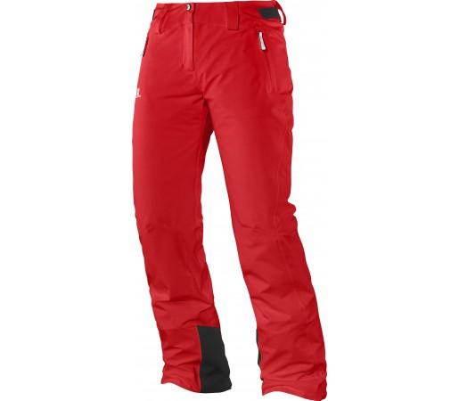 Pantaloni Ski si Snowboard Salomon Iceglory W Red