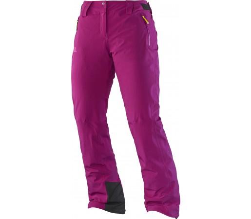 Pantaloni Ski si Snowboard Salomon Iceglory W Pink