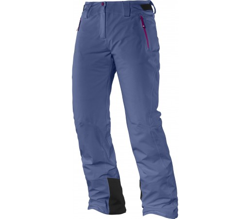Pantaloni Ski si Snowboard Salomon Iceglory W Dark Blue