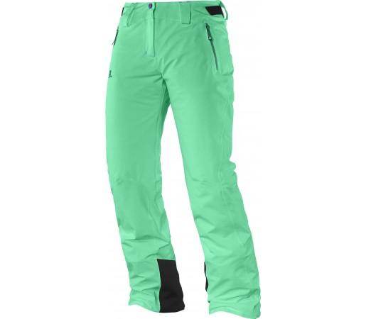 Pantaloni Ski si Snowboard Salomon Iceglory W Light Green