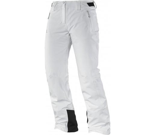 Pantaloni Ski si Snowboard Salomon Iceglory W White