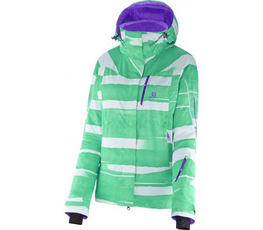 Geaca Ski si Snowboard Salomon Iceglory W Green