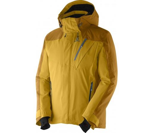 Geaca Ski si Snowboard Salomon Iceglory M Yellow