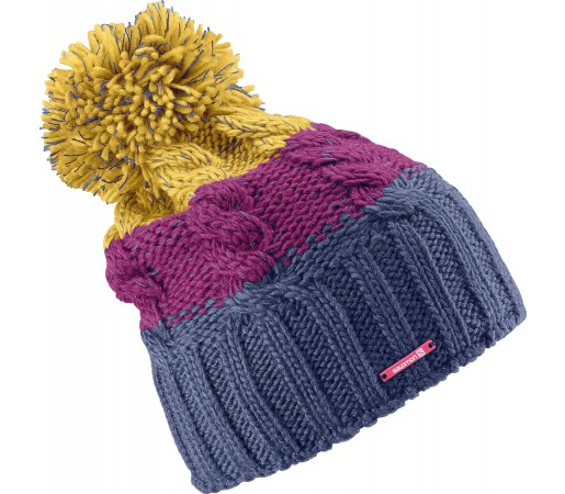 Caciula Salomon Laura Beanie Blue/Purple/Yellow