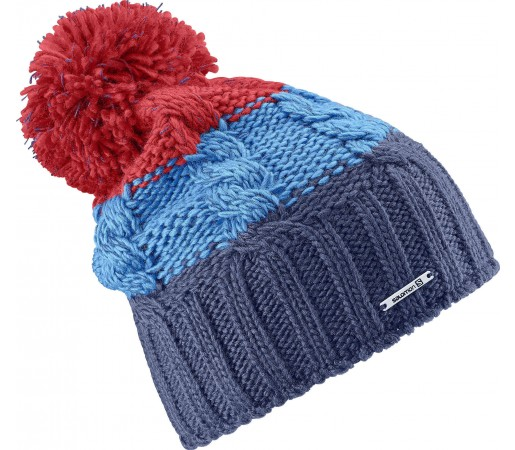 Caciula Salomon Laura Beanie Blue/Red