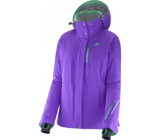 Geaca Ski si Snowboard Salomon Brillant W Purple