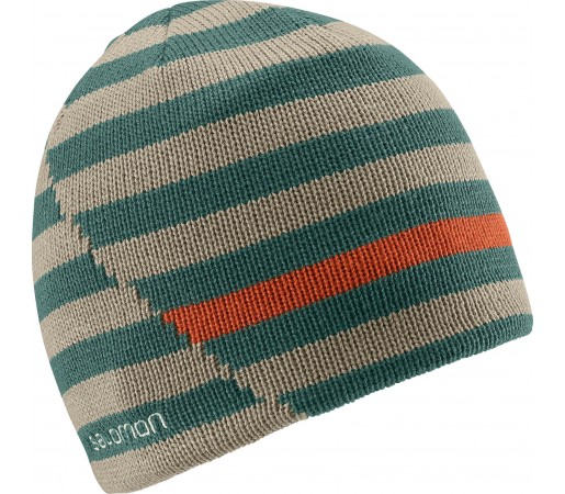 Caciula Salomon Stripe Reversible Green