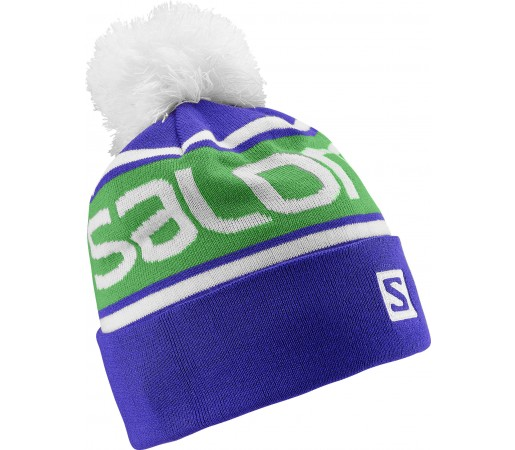 Caciula Salomon Free Beanie Blue/Green