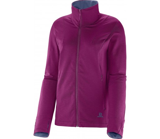 Midlayer Salomon Gualea FZ W Purple