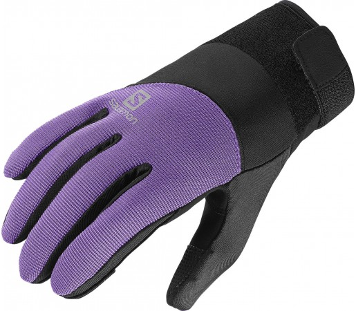 Manusi Salomon Thermo Glove W Black/Purple
