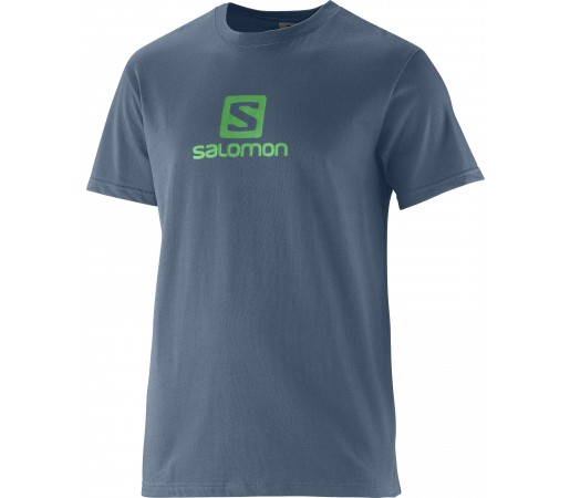 Tricou Salomon Polylogo M Grey