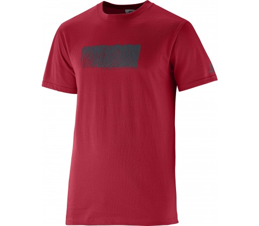 Tricou Salomon Freeline SS M Red