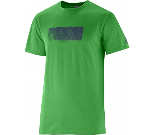 Tricou Salomon Freeline SS M Green