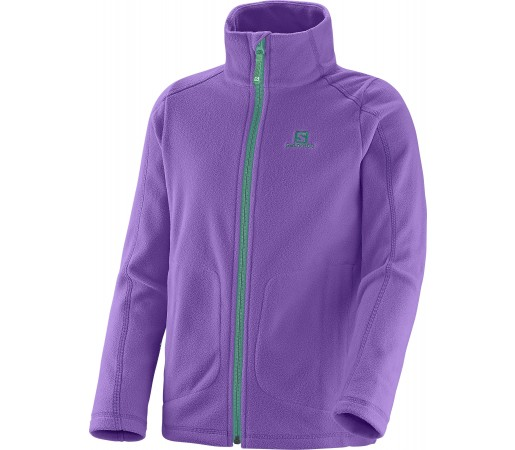 Midlayer Salomon Panorama Jr Fz K Purple