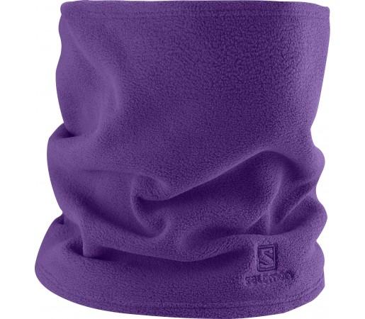 Esarfa Salomon Fleece Neck Tube Purple