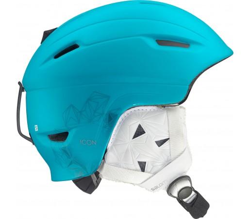 Casca Ski si Snowboard Salomon Icon Blue Teal