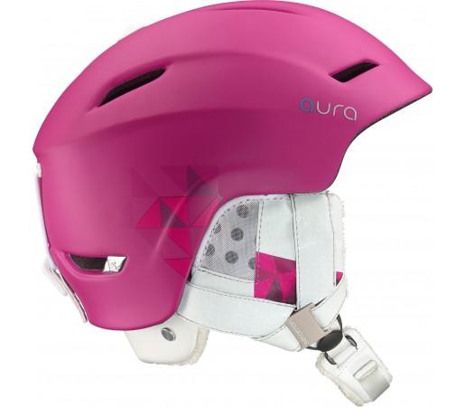Casca Ski si Snowboard Salomon Aura Custom Air Pink