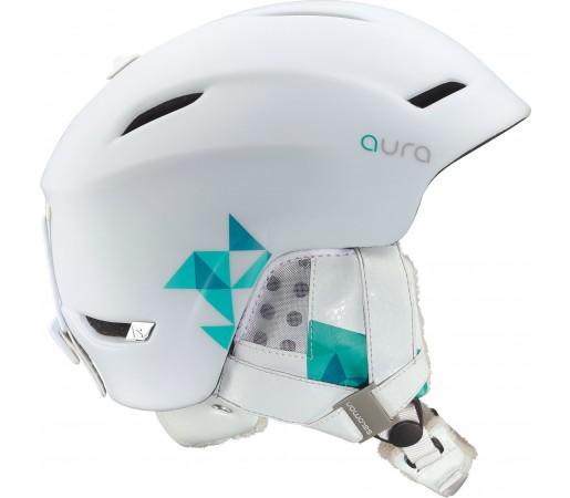 Casca Ski si Snowboard Salomon Aura Custom Air White