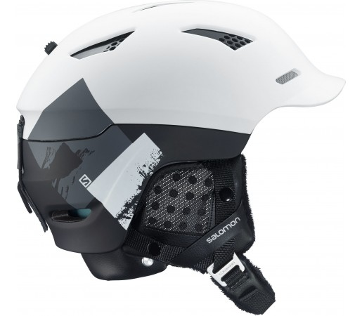 Casca Ski si Snowboard Salomon Prophet Custom Air White