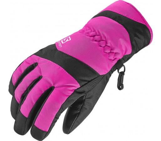 Manusi Salomon Electre Glove Jr Pink