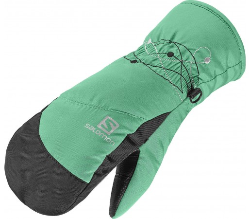 Manusi Salomon Electre Mitten Girl Green