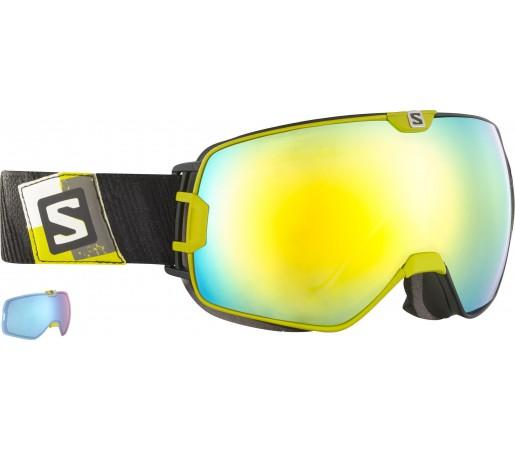 Ochelari Ski si Snowboard Salomon X-Max+Xtralens Yellow